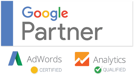 solid marketing google partner badge