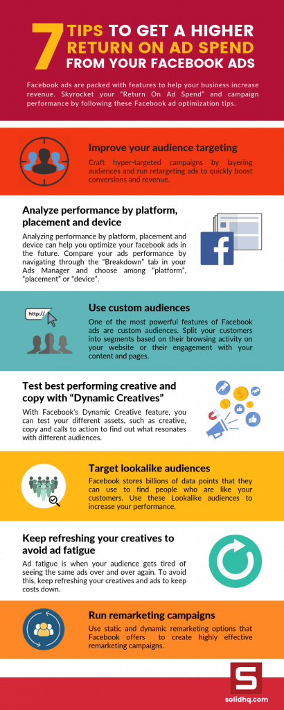 Infographic_7 tips to get a higher ROAS from your Facebook Ads
