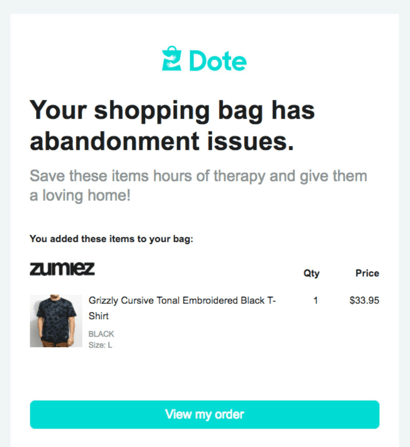 email-markeiting-for-ecommerce-dote-example