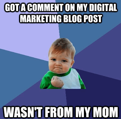 social media marketing meme
